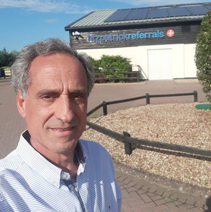 Josep de la Fuente fa una estada al prestigiós Hospital veterinari Fitzpatrick referrals